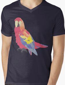 Parrot Flies by Algernon Cadwallader Mens V-Neck T-Shirt