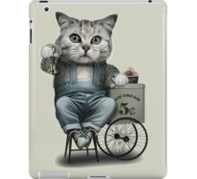 ICE CREAM SELLER iPad Case/Skin