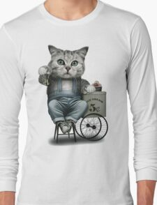 ICE CREAM SELLER Long Sleeve T-Shirt