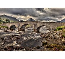 Sligachan Bridge Photographic Print