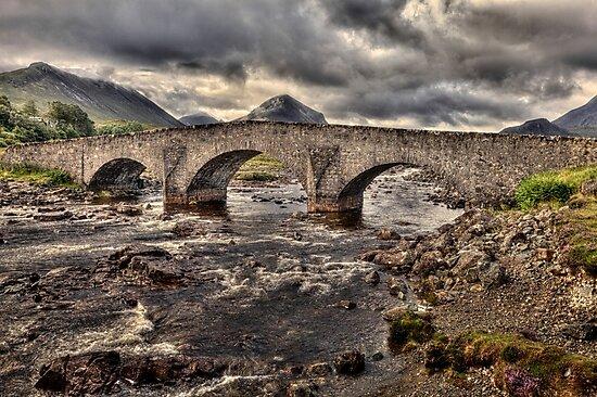 Sligachan Bridge by derekbeattie