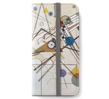 Kandinsky's Composition No. 8 i-phone wallet iPhone Wallet/Case/Skin
