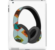Jazz Headphones iPad Case/Skin