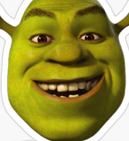 Not In My Swamp - Shrek Sticker