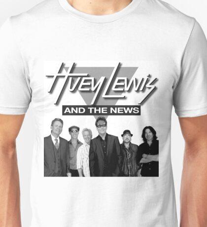 huey lewis and the news band 2016 rizki Unisex T-Shirt
