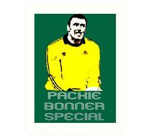 Packie Bonner Special Art Print