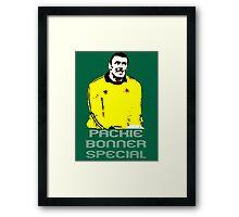 Packie Bonner Special Framed Print