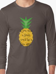 Fine-apple Long Sleeve T-Shirt