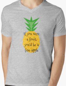 Fine-apple Mens V-Neck T-Shirt