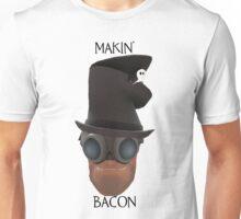 "TF2 Gibus Engineer ""Makin' Bacon"" Unisex T-Shirt"