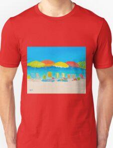 Beach Art - Beach Chairs Unisex T-Shirt