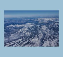 Mountains as Far as the Eye Can See - Flying Over the Rockies Baby Tee