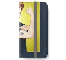 Scully the riveter iPhone Wallet/Case/Skin