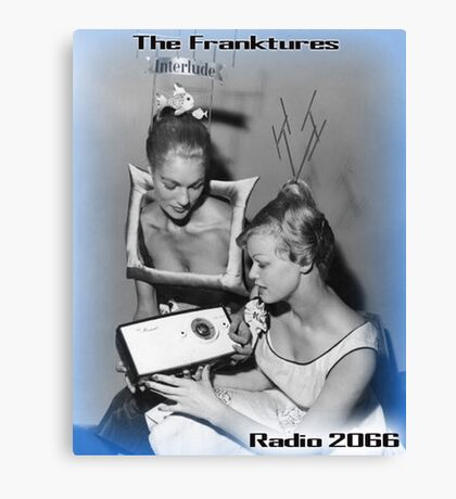 Radio 2066 Canvas Print