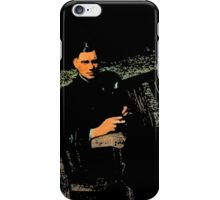 WWII Airman in England iPhone Case/Skin