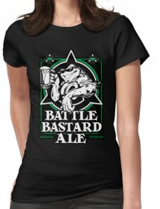 Battle Bastard Ale Womens Fitted T-Shirt