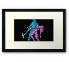 Hotline Miami: Do you like hurting other people? Framed Print