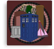 The Forgotten TARDISes Canvas Print