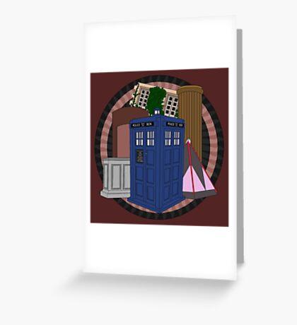 The Forgotten TARDISes Greeting Card