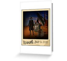 The War Doctor in Roswell Greeting Card