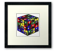 The Doctor's Cube Framed Print