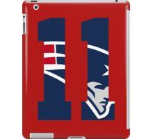 Julian Edelman-Jersey iPad Case/Skin