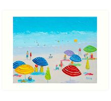 Beach Art - Miami Beach, Florida Art Print