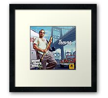 Trevor Philips GTA V Poster Framed Print
