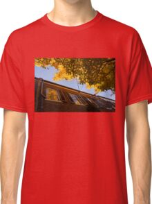 Washington, DC Facades - Reflecting on Autumn in Georgetown  Classic T-Shirt