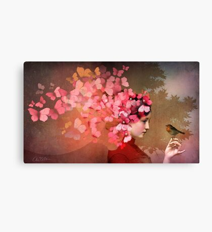 Friendship 2 Canvas Print