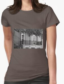 Dallas Architecture 7 Womens Fitted T-Shirt