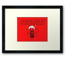 Sting !! Framed Print