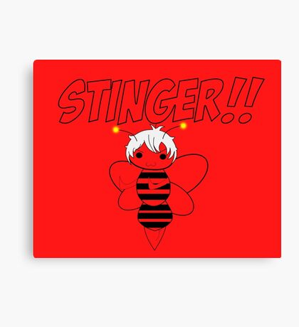 Sting !! Canvas Print