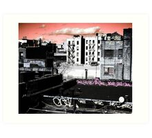 Hard Day's Night in Brooklyn Art Print