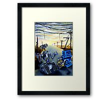 Post-Apocolyptic Family Outing Framed Print