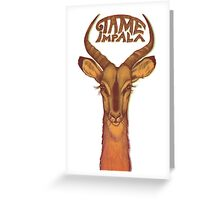 tame impala 01 Greeting Card