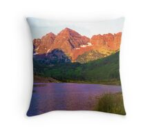 The Rockies  Throw Pillow
