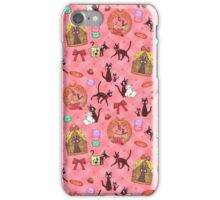 Kiki in pink iPhone Case/Skin