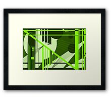 Varying Line Weight Framed Print
