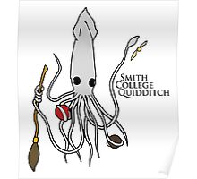 Smith College Quidditch Mascot Poster