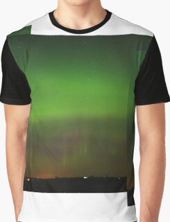 Green ligths oval Graphic T-Shirt