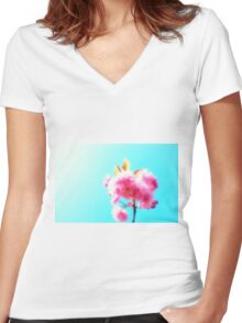 Perfect Blossoms. Women's Fitted V-Neck T-Shirt