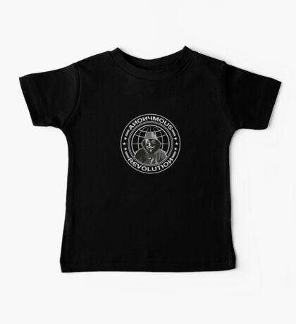 Anonymous Revolution Baby Tee