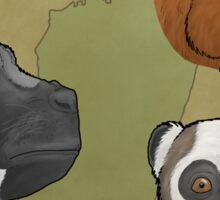 Palaeopropithecidae Sticker