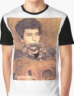 PORTRAIT OF BOB DYLAN Graphic T-Shirt