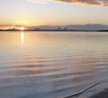 Sunset at Bribie Island Sticker