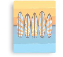 Summer Is For Surfing Canvas Print