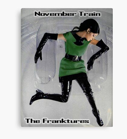November Train Canvas Print