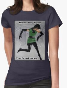 November Train Womens Fitted T-Shirt