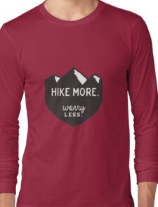Hike More Art Long Sleeve T-Shirt